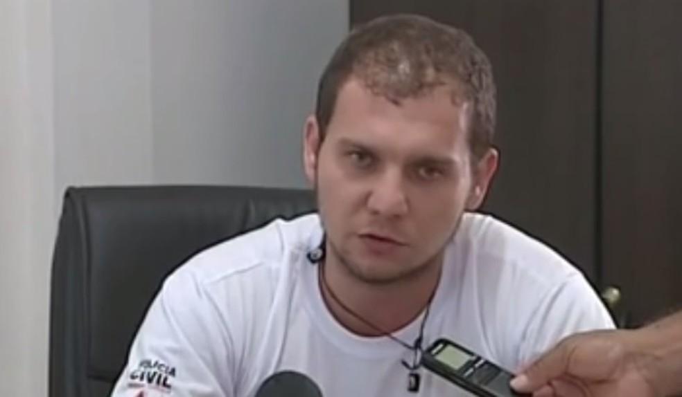 Delegado atualmente trabalha em Jaíba, no Norte de Minas (Foto: Reprodução/Inter TV dos Vales)
