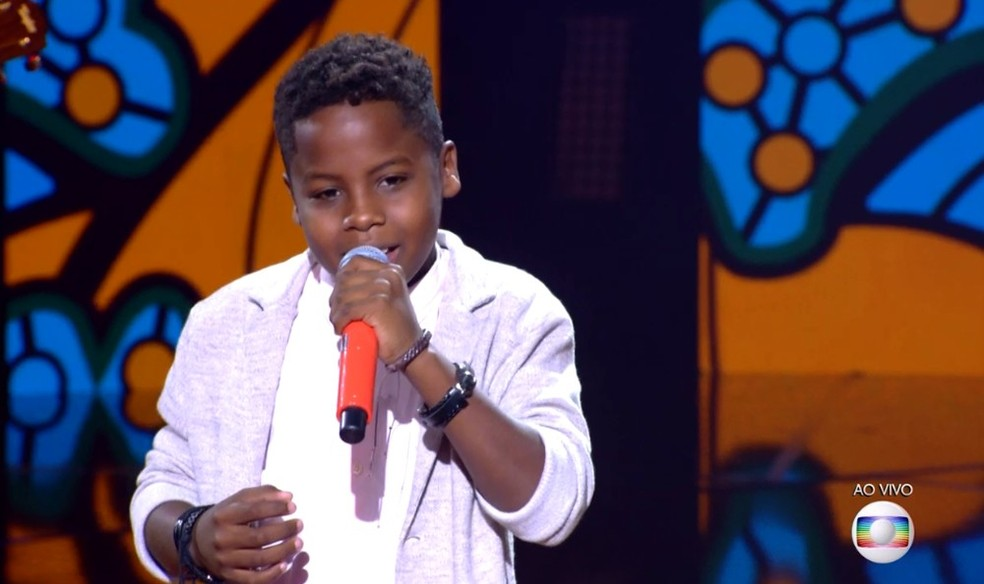 Jeremias Reis venceu o The Voice Kids — Foto: TV Globo
