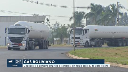 Copagaz é a primeira empresa a comprar gás da Bolívia, em larga escala