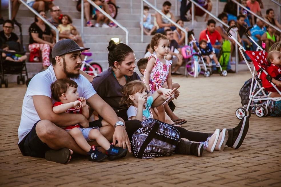 Domingo na Arena traz programação especial para toda a família — Foto: Brunno Martins