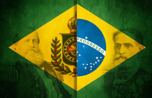 Monarquia e República (Foto: Arquivo Google)