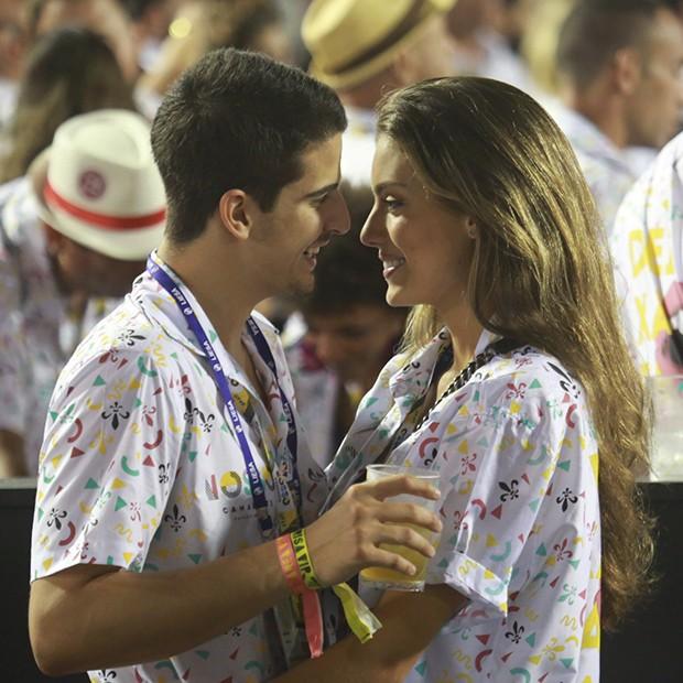 Enzo Celulari e a namorada, Victória Bartelle (Foto: Dilson Silva/ AgNews)