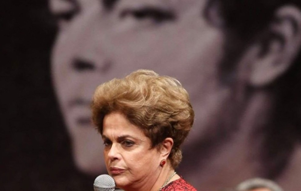 Dilma Rousseff em imagem do documentário 'O processo', de Maria Augusta Ramos — Foto: Divulgação