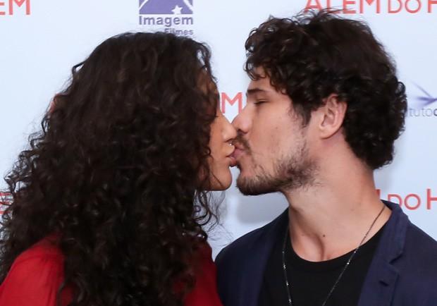Débora Nascimento e José Loreto (Foto: Roberto Filho/Brazil News)