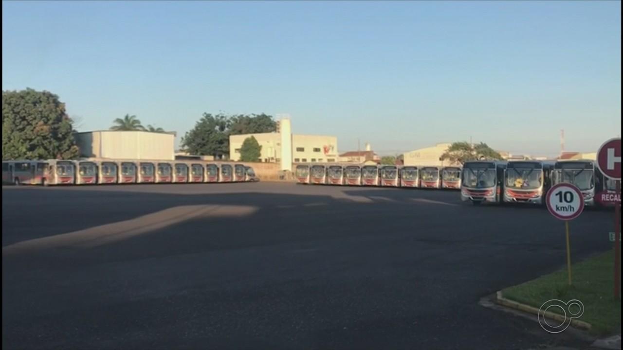 Funcionários do transporte coletivo de Marília fazem paralisação nesta quinta-feira (8)