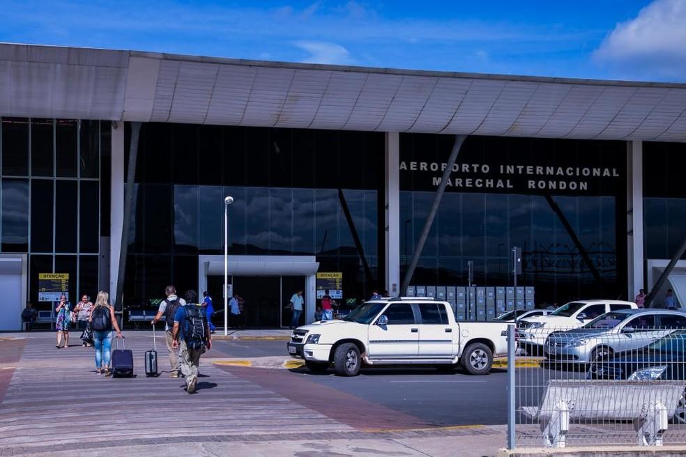 Aeroporto Marechal Rondon (MT) foi o terminal brasileiro mais pontual da América Latina em março