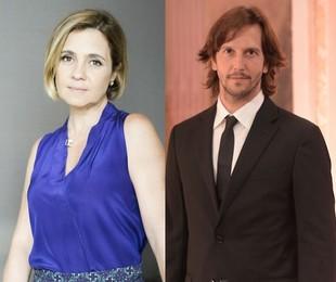 Adriana Esteves e Vladimir Brichta   TV Globo