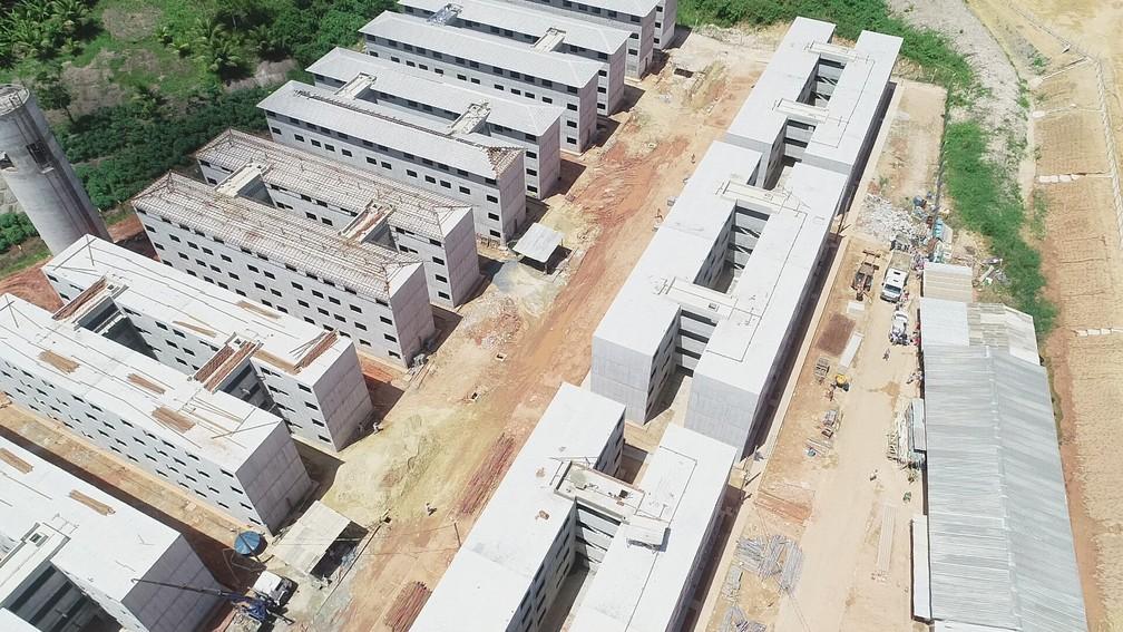 Pernambuco tem diversos habitacionais do Minha Casa Minha Vida que não foram entregues — Foto: Augusto César/TV Globo