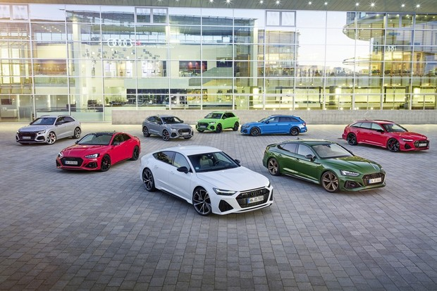 Audi RS initiative: Audi Sport GmbH presented eight new RS models in 2019(RS Q8, RS 7 Sportback, RS 6 Avant, RS 5 Coup (Foto: Divulgação)