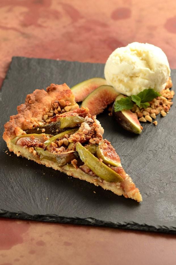 Receita de crostata de figo fácil de fazer  (Foto: Divulgação )