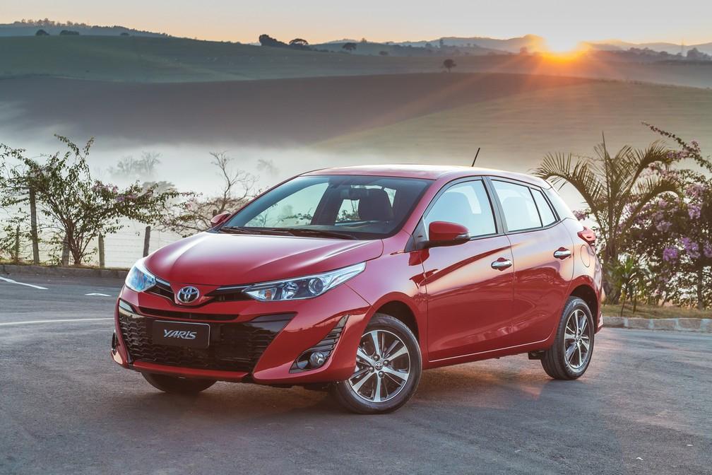 Toyota Yaris hatch (Foto: Toyota/Divulgação)