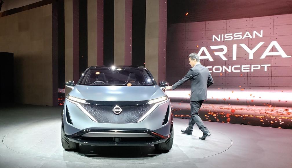 Nissan Ariya Concept — Foto: Rafael Miotto/G1