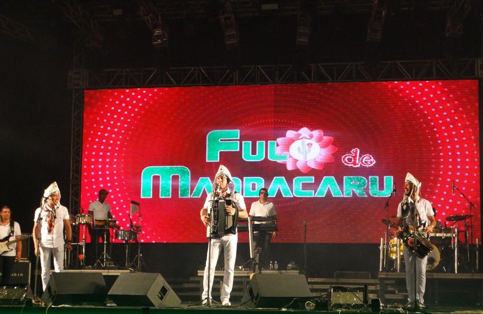 Fulô de Mandacaru tocou os maiores sucessos (Foto: Lafaete Vaz/G1)