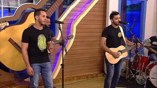 """""""Medida certa"""" com Hugo & Vitor no Meu MS. Solta o som!"""