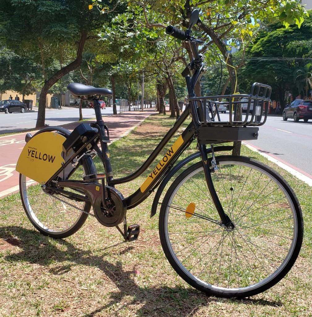0254416ec ... Serviço de bicicletas elétricas compartilhadas da Yellow começou nesta  segunda-feira (11)