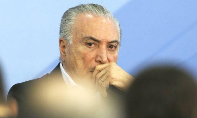 Michel Temer, presidente da República (Foto: O Globo)
