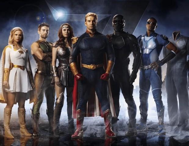 Os super-heróis de The Boys (Foto: Divulgação)