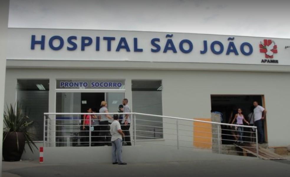 Hospital São João em Registro, SP — Foto: Reprodução/Google Maps