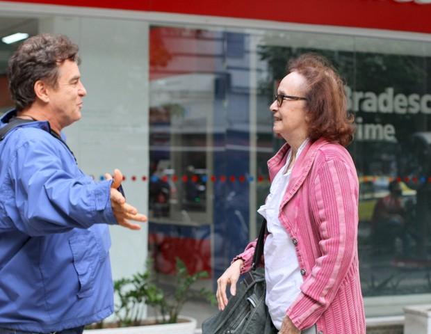 Joana Fomm e Marcos Frota (Foto: Daniel Delmiro/AgNews)