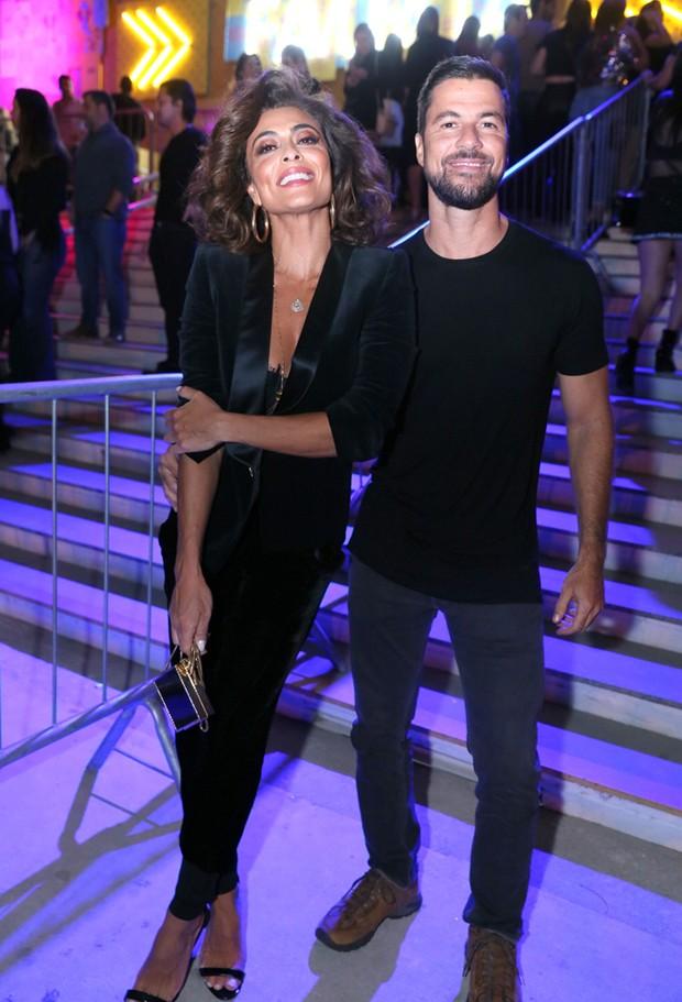 Juliana Paes e Carlos Eduardo Baptista (Foto: Anderson Borde/Agnews)