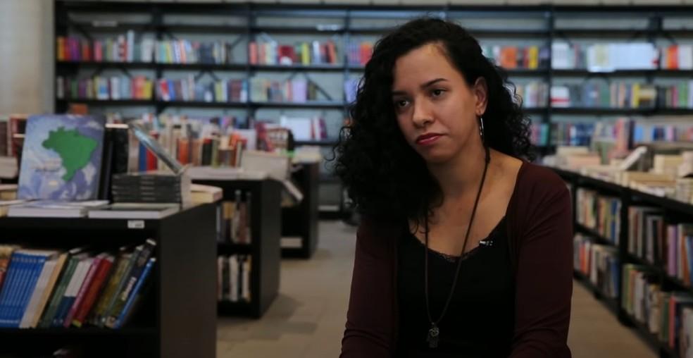 Narayan Porto é filóloga e pesquisadora da Universidade de São Paulo — Foto: Reprodução/Jornal da USP