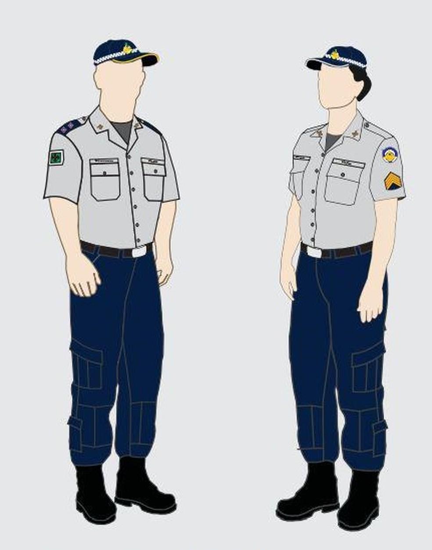 Uniforme de uso obrigatório na Polícia Militar do Distrito Federal — Foto: Divulgação/Polícia Militar