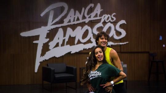 'Dança dos Famosos': veja como foram os ensaios do time masculino para o funk