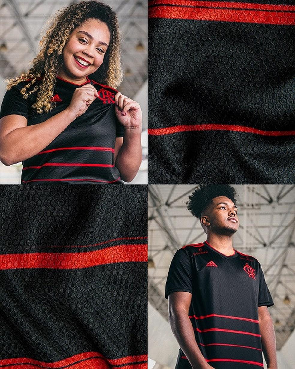 Terceira camisa Flamengo — Foto: Divulgação