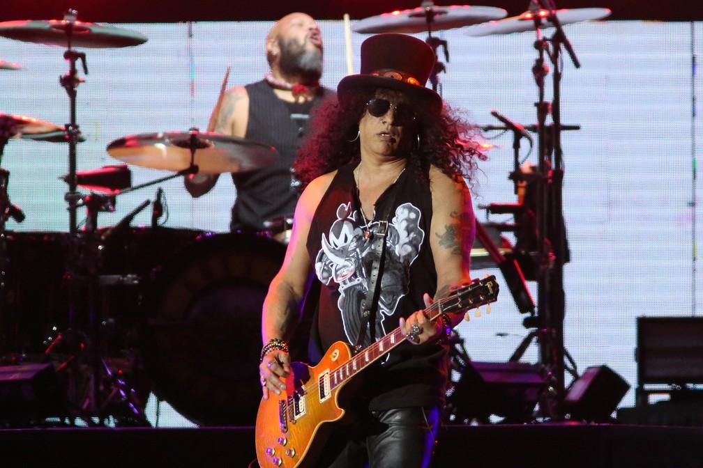 Ingressos Do Show De Guns N Roses Em Fortaleza Variam: Slash Anuncia Oito Shows No Brasil Em 2019