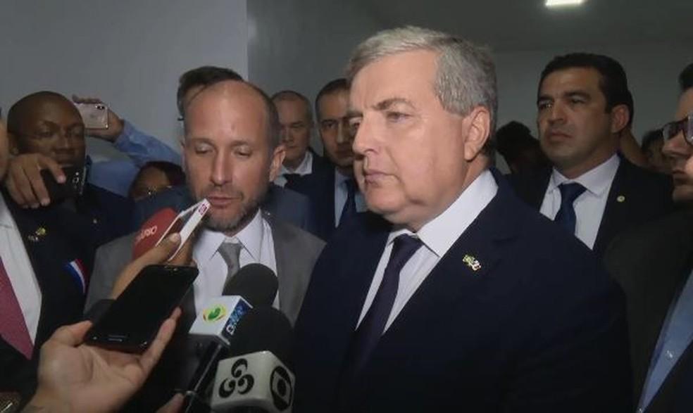 Michel Miraillet, embaixador da França no Brasil — Foto: Rede Amazônica/Reprodução