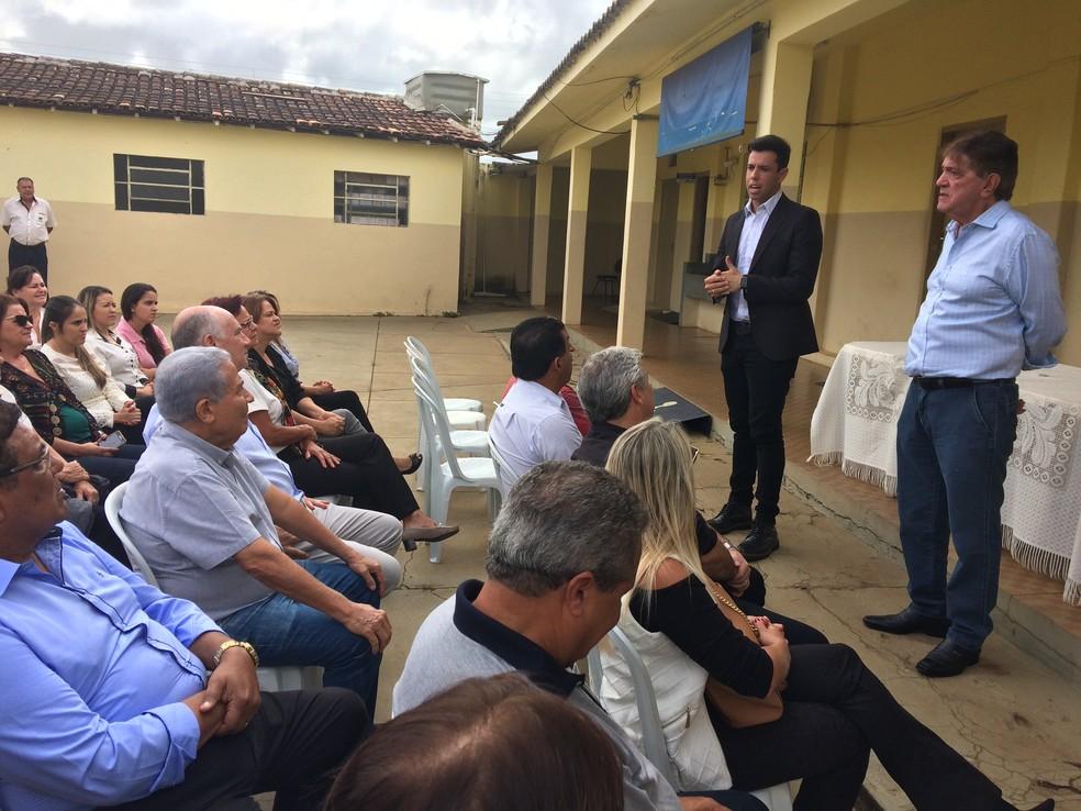 -  Secretários de outras pastas participaram da cerimônia  Foto: Prefeitura de Araxá/Divulgação