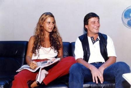 Guilhermina Guinle foi casada com Fábio Júnior (Foto: Arquivo)