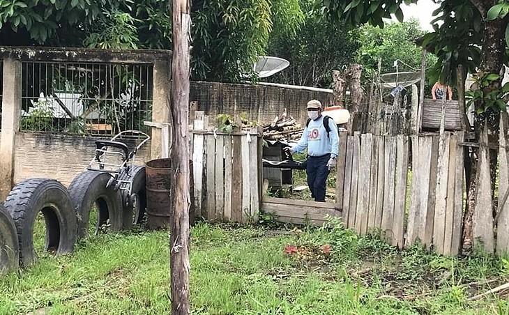 Em meio à cheia que atingiu 90% da cidade, Tarauacá tem mais de 1,8 mil casos positivos de dengue