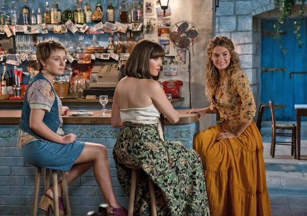 Donna é interpretada por Lily james (Foto: Divulgação)