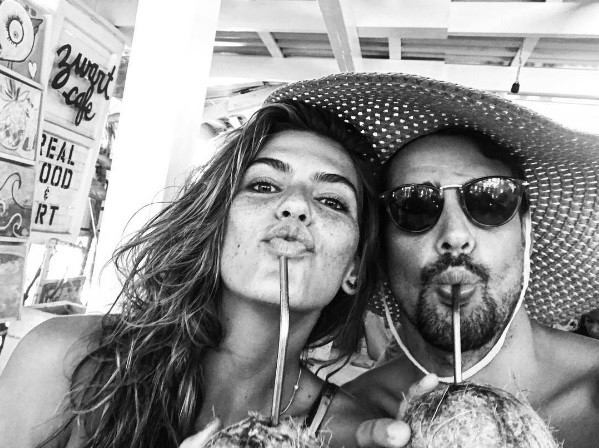 Cauã Reymond e Mari Goldfarb (Foto: Instagram)