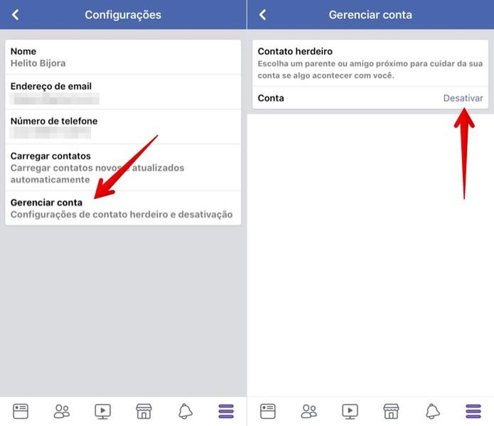 d3d5f9cc7d Como desativar o Facebook pelo celular | Dicas e Tutoriais | TechTudo