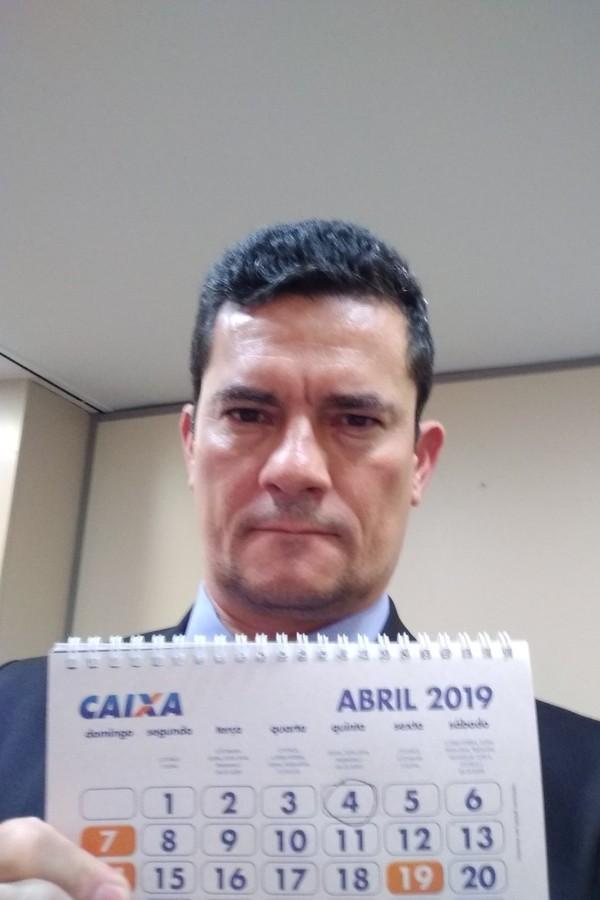 Sérgio Moro no Twitter (Foto: reprodução)