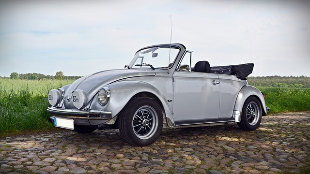 Volkswagen Fusca Cabrio (Foto: Pixabay)