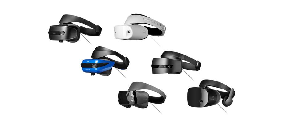 Headsets preparados para realidade mista são equipados com câmeras para monitorar movimentos (Foto: Reprodução/Luana Marfim)