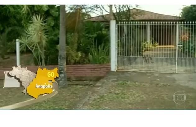 A propriedade fica localizada em Anápolis, município de Goiás (Foto: Reprodução)