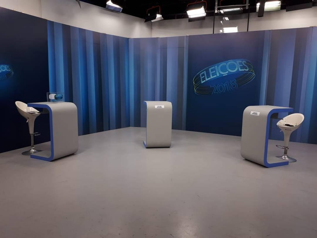 Candiatos ao governo do RN participam do debate na Inter TV Cabugi nesta quinta (25)