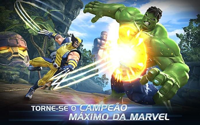 Game com personagens da Marvel é um dos melhores jogos de luta do Android (Foto: Divulgação)