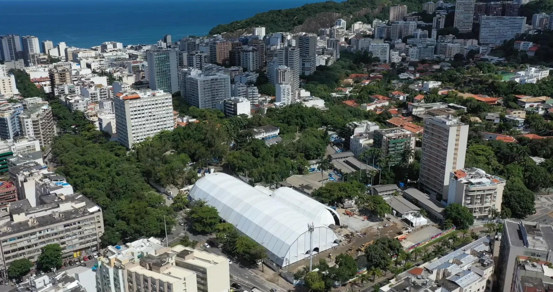 Hospital de campanha no Rio antecipa inauguração para este sábado, com 30 leitos