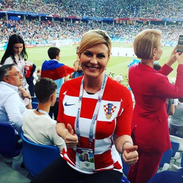 Kolinda Grabar-Kitarović, presidente da Croácia (Foto: reprodução)