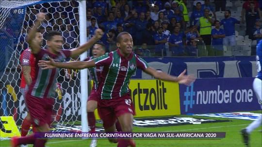 Fluminense enfrenta o Corinthians por vaga na Sul-Americana na despedida de João Pedro