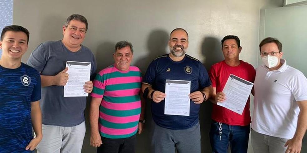 Remo oficializa a compra do CT do Carajás — Foto: Divulgação