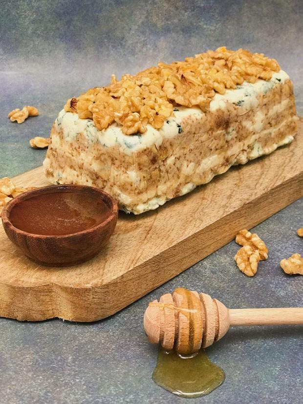 Para as festas de fim de ano: receita de terrine de gorgonzola, figos e nozes (Foto: Divulgação)