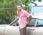 Vitor Hugo grava cena de 'Pecado mortal'   Munir Chatack/ Divulgação Record