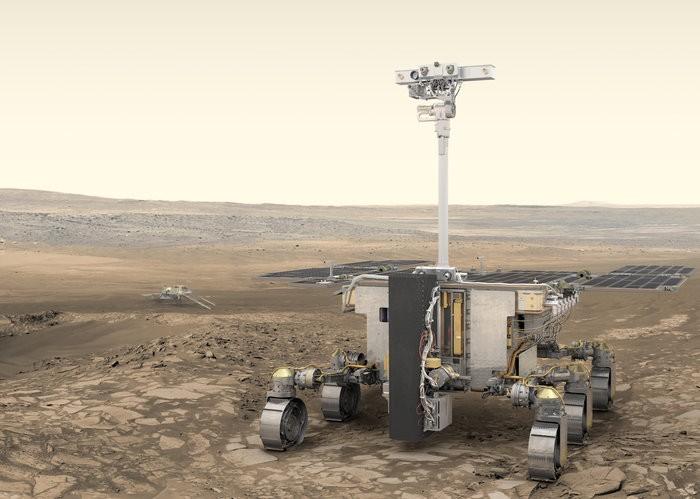 A missão do programa ExoMars da ESA está programados para lançamento em julho de 2020, chegando a Marte em março de 2021 (Foto: ESA / ATG)
