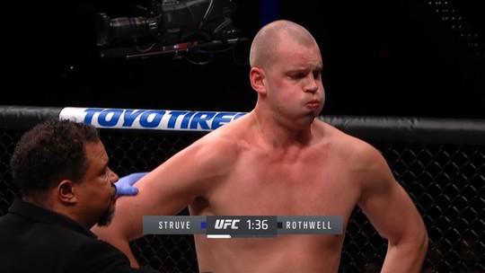 Melhores momentos de Stefan Struve x Ben Rothwell no UFC Washington.